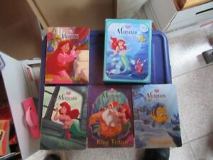 LITTLE MERMAID - BOXED SET OF BOOKS