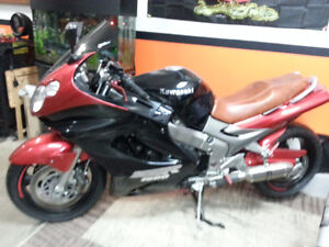 Kawasaki zzr1200 for sale or trade for boat