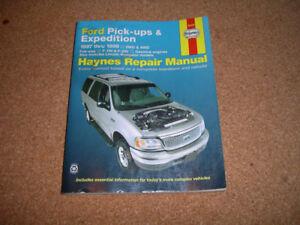 Haynes Repair Manual, Ford pick-ups & Expedition