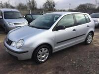 VW POLO 2004 1.2 MY TWIST PETROL - MANUAL - 1 OWNER FROM NEW -NEW MOT