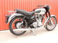 ROYAL ENFIELD BIG HEAD BULLET 500cc 1959 Original Transferrable Registration