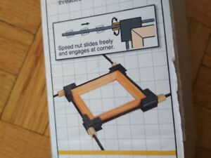 Four way Speed Frame Clamp with Extention Rods