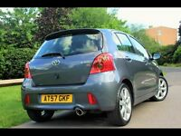 Toyota Yaris SR sport 2008 only 1800 mile 1owner keyless entry full Toyota service history