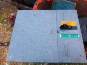100 amp electricial panel