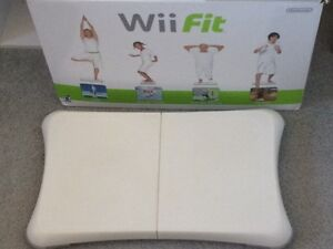 Wii fit board and disc