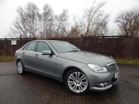 Mercedes C200 Cdi Blueefficiency Elegance Ed125 Sat Nav