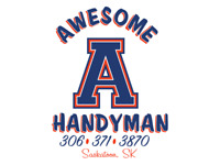 Awesome Handyman          Check out our Facebook!