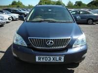 2003 03 LEXUS RX 3.0 300 SE-L 5D AUTO 202 BHP