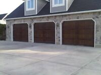Garage door install & repair, springs, 7/24 service, free estima