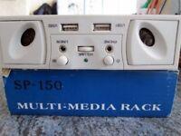 Muty-Media rack for PC BNIB