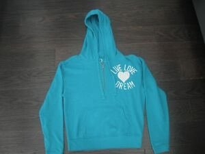 Ladies Purple American Eagle Hoodie Size Medium London Ontario image 4