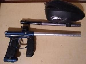 Empire Mini GS paintball marker, Dye Rotor hopper 300$
