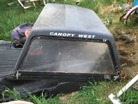 CANOPY OFF SMALL TRUCK $60