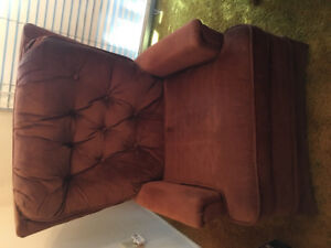 Rocking accent chair