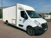 2015 Vauxhall Movano 2.3 CDTI L3 LOWLOADER LUTON 125ps TOILET SHOWER MOBILE STAT