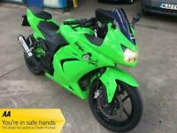 2008 Kawasaki NINJA 250 MOTORCYCLE Petrol Manual