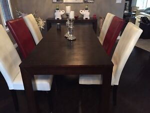 Dark Espresso Stained wood table
