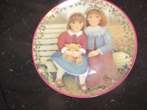 sisters collector plate
