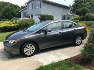 Immaculate 2012 Honda Civic - Lady Driven - Low kms - Automatic