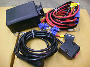 SNOWBEAR PERSONAL SNOW PLOW WINCH COMPLETE WIRING KIT ONLY.  COM