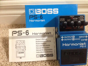 BOSS PS-6 Harmonist: Pitch Shifting Pedal