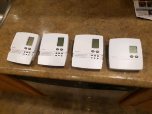 4 Honeywell electric baseboard thermostat