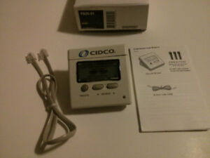 New CIDCO Model PA 25 Call Memory Caller ID Display Unit