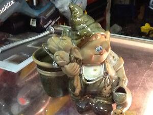 Ceramic Gnome Dwarf $5