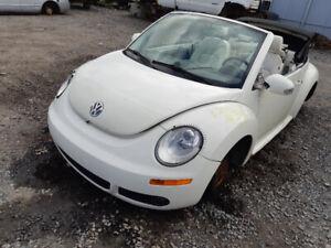 Pieces Volkswagen  beetle decapotable convertible parts