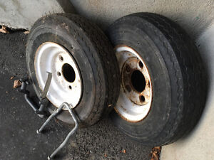 2 roues pour remorque / 2 wheels for trailer Gatineau Ottawa / Gatineau Area image 3