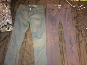 Size 5 women's jeans, never worn