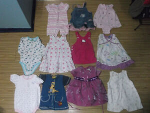 LOT OF GIRL CLOTHING 12-18 MTHS Gatineau Ottawa / Gatineau Area image 2