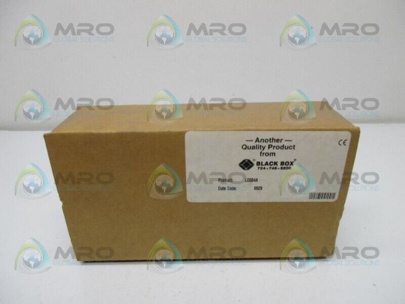 BLACK BOX LE004A ETHERNET TRANSCEIVER * NEW IN BOX *