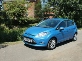 2009(59) FORD FIESTA 1.6 TDCI ZETEC (a/c) - FSH - IN VGC - MOT JUNE 2019 -