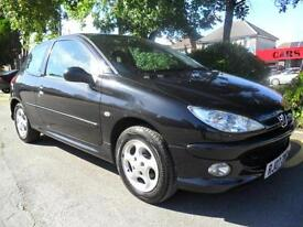 Peugeot 206 1.4 2007 84000 MILES COMPLETE WITH M.O.T HPI CLEAR INC WARRANTY