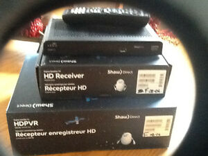 Shaw Sattelite Dish +HDPVR 620 329GB +HDDSR 600 with all of the