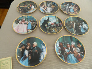 Wizard of Oz Collectable Plates