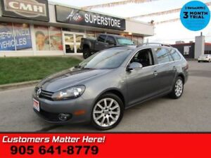 2014 Volkswagen Golf Wolfsburg  DIESEL NAV ROOF LEATHER  HTD-SEA