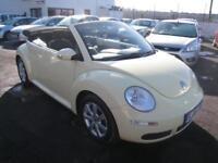 Volkswagen Beetle 1.6 Luna Cabriolet. 72000 Miles. 12 Months MOT