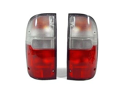 DEPO Red/Clear Tail Light For 1995-2000 Toyota Tacoma Pickup Truck 2WD & 4WD