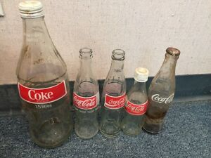 Coca-Cola - Coke - Glass Bottles