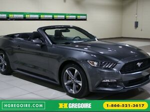 2016 Ford Mustang V6 CONVERTIBLE AUTO A/C MAGS BLUETOOTH