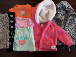 Lot of clothing - baby girl 3 to 6 month