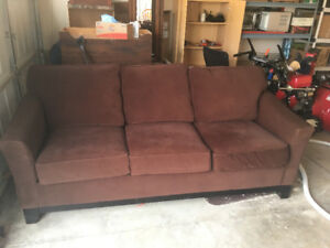 Couch/Sofa - Brown, La-z-boy brand.