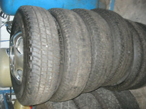 GMC dually wheels and tires
