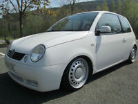04/54 VOLKSWAGEN LUPO 1.4S 3DR HATCH IN WHITE WITH 83,000 MILES