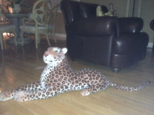 """Lion, stuffed lions, very large, 55"""" long and 24"""" high and 40x17 London Ontario image 2"""