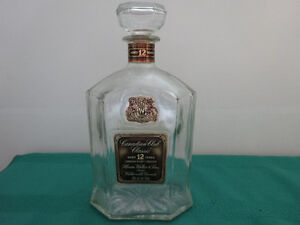 Canadian Club Classic Decanter with stopper (empty) Gatineau Ottawa / Gatineau Area image 1