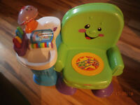 Fisher Price Laugh n Learn chair