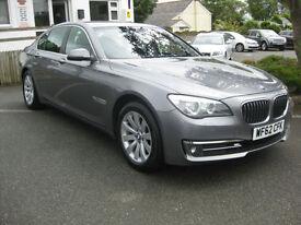 2012/62 BMW 7 Series 3.0 730d SE 4dr (start/stop) FULL DEALER HISTORY.